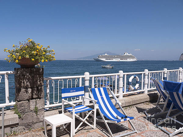 Photograph - Mediterranean Cruise To Sorrento by Brenda Kean