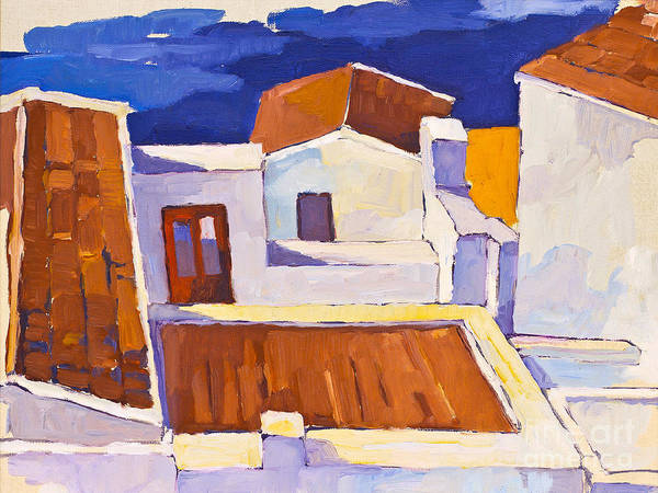 Painting - Mediterranean by Lutz Baar