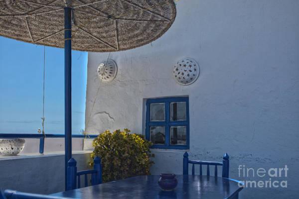 Taverna Photograph - Mediterranean Restaurant by Patricia Hofmeester