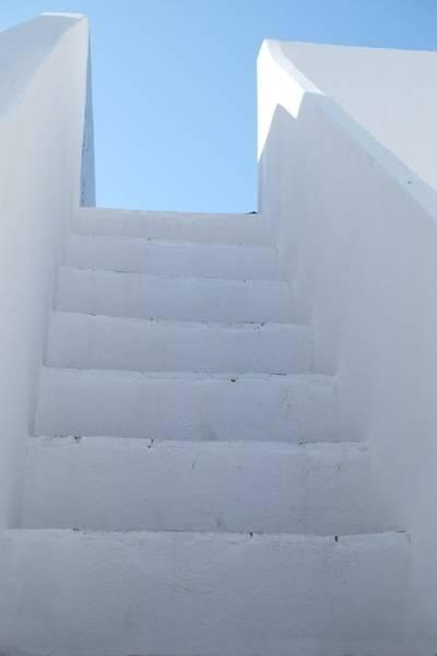 Mediterranean Staircase Art Print