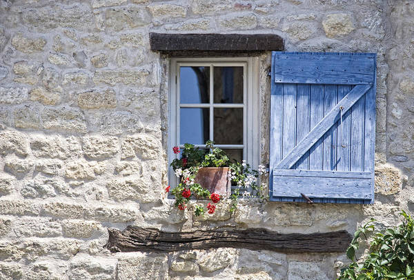 Wall Art - Photograph - Mediterranean Window by Joachim G Pinkawa