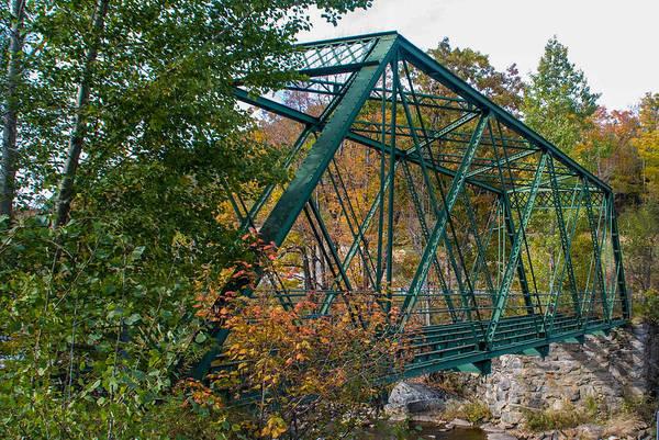 Photograph - Medleyville Iron Bridge by Guy Whiteley