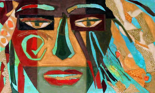 Lip Piercing Wall Art - Mixed Media - Medusa by Diane Fine