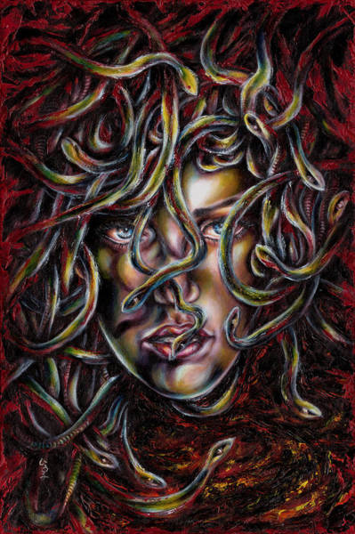 Medusa No. Three Art Print