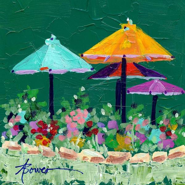 Painting - Meet Me At The Cafe by Adele Bower