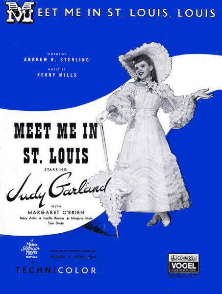 Wall Art - Photograph - Meet Me In St Louis Louis by Mel Thompson