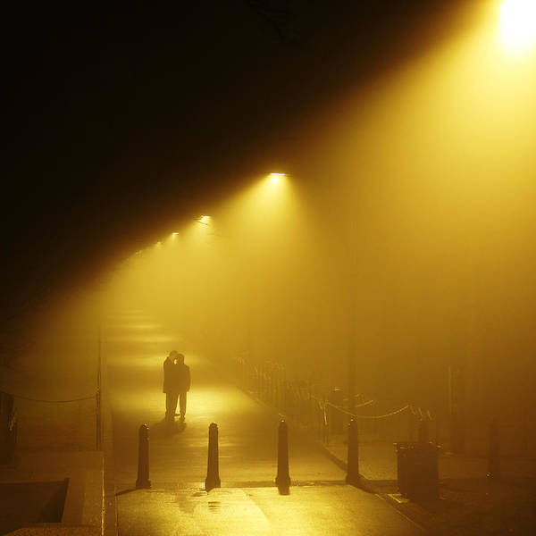 Photograph - Meet Me In The Fog by Metro DC Photography