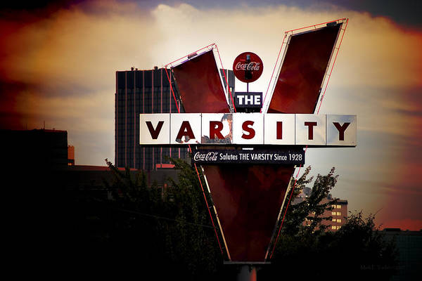 Meeting At The Varsity - Atlanta Icons Art Print
