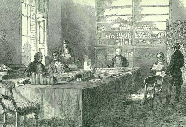 Public Health Photograph - Meeting Of The Uk General Board Of Health by Universal History Archive/uig