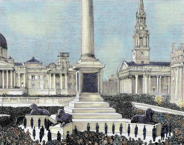 Trafalgar Photograph - Meeting Of Workers Unemployed by Prisma Archivo
