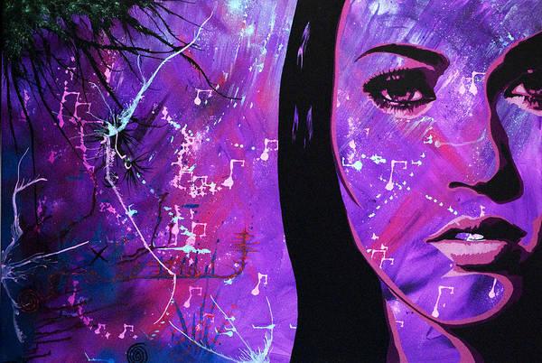Transformer Painting - Megan Fox by Bobby Zeik