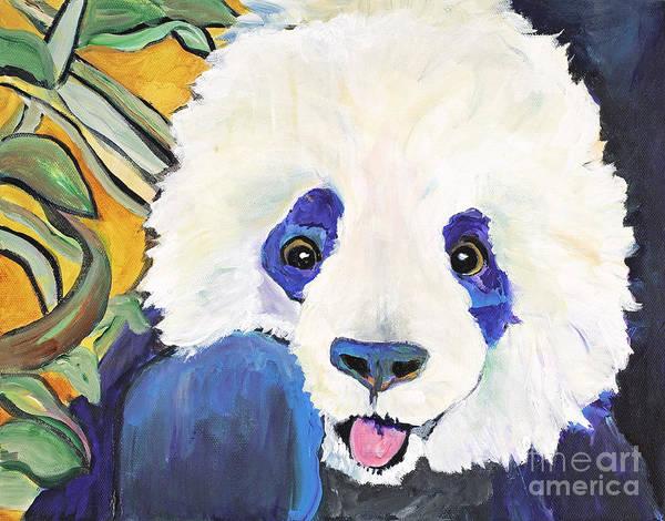 Painting - Mei Hau by Pat Saunders-White