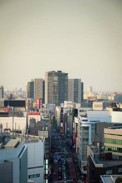 Boulevard Photograph - Meiji Dori by Hal Bergman
