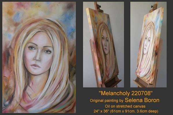 Melancholy 220708 Art Print