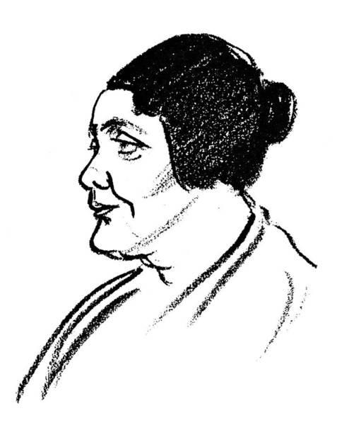1924 Drawing - Melanie Klein (1882-1960) by Granger