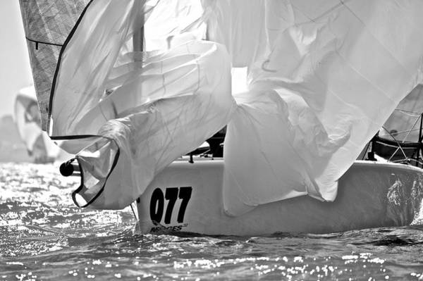 Photograph - Melges Spinnakers by Steven Lapkin