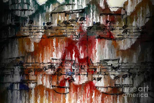 Digital Art - Melismatic 2 by Lon Chaffin