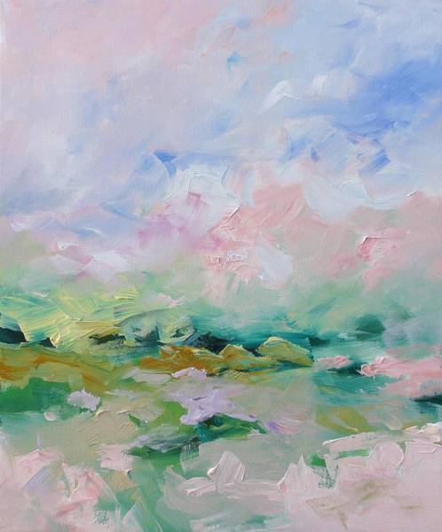 Monfort Painting - Mellow Skies by Linda Monfort