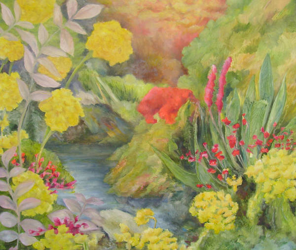 Utilitarian Painting - Mellow Yellow by Cris Johnson