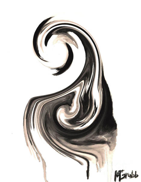 Salvador Dali Painting - Melting In Ink by Michael Grubb