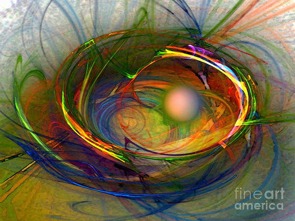 Translucent Digital Art - Melting Pot-abstract Art by Karin Kuhlmann