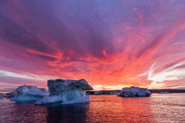 Melville Photograph - Melting Sea Ice, Hudson Bay, Nunavut by WorldFoto