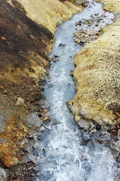 Water Erosion Photograph - Meltwater Stream by Dr P. Marazzi