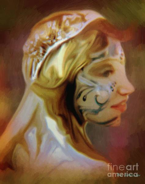 Painting - Melusine Of Avalon by RC DeWinter