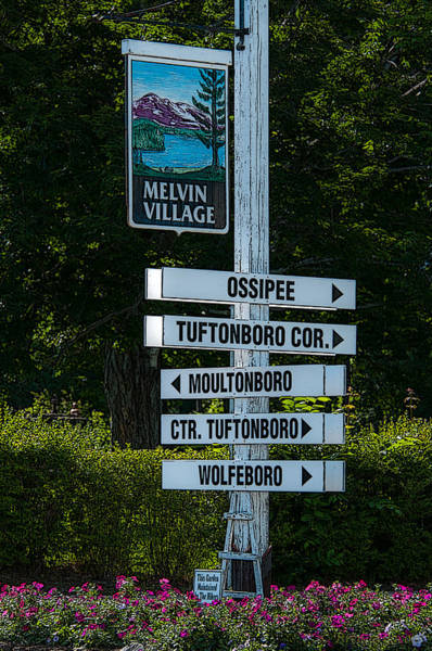 Photograph - Melvin Village Poster by Brenda Jacobs