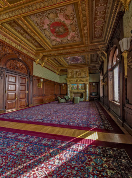 Photograph - Members Room Library Of Congress II by Susan Candelario