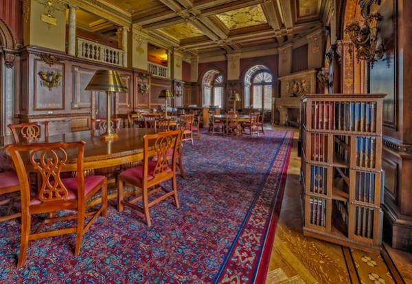 Member Of Congress Wall Art - Photograph - Members Room Library Of Congress by Susan Candelario