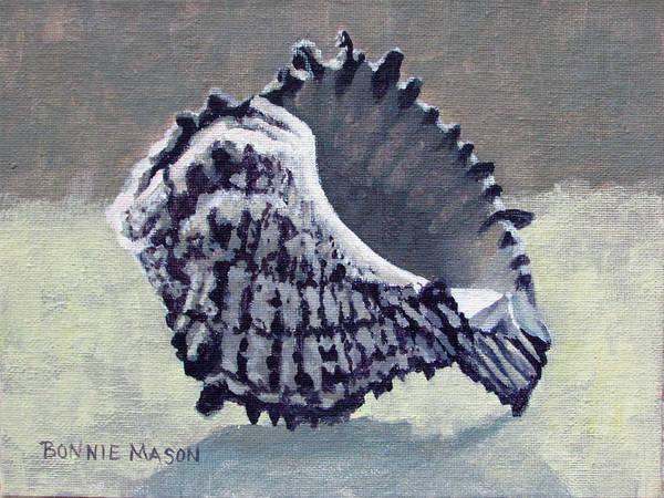 Wall Art - Painting - Memento II - Sea Treasure by Bonnie Mason