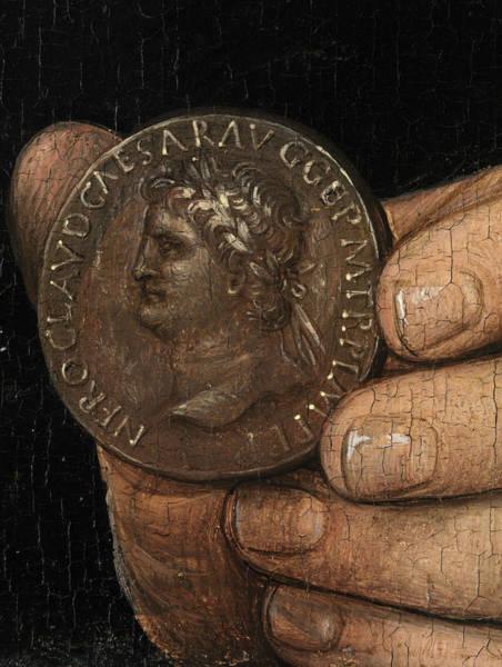Wall Art - Painting - Memling Roman Coin by Granger