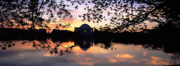 Potomac River Photograph - Memorial At The Waterfront, Jefferson by Panoramic Images