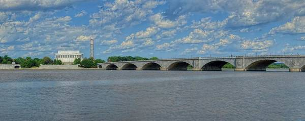 Photograph - Memorial Bridge After The Storm by Metro DC Photography