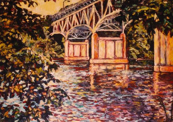 Painting - Memorial Bridge by Kendall Kessler
