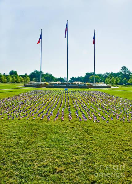 Photograph - Memorial Day At Texas Tech by Mae Wertz