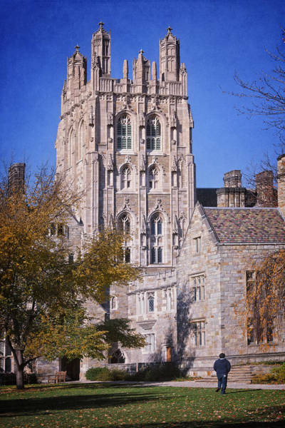 Photograph - Memorial Quadrangle Yale University by Joan Carroll