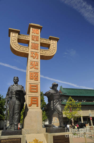 Photograph - Memorial To The Chinese Who Fought For America  by Brenda Kean