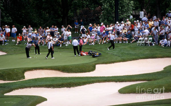 Photograph - 12w192 Memorial Tournament Photo by Ohio Stock Photography