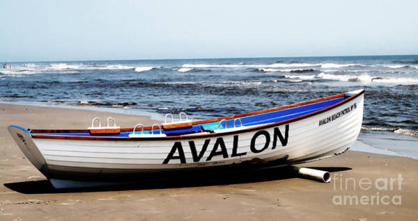 Lifeboat Photograph - Memories Of Avalon by Andrea Rea