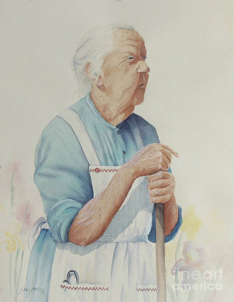 Painting - Memories Of Granny Clapp by Sandy Brindle