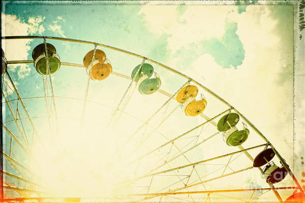 Fair Ground Photograph - Carnival - Memories Of Summer by Colleen Kammerer