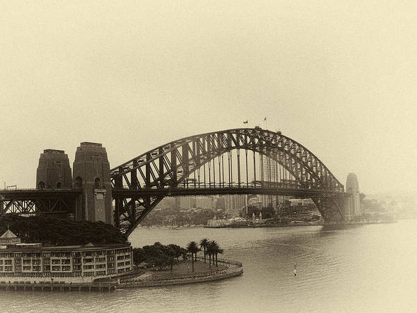 Photograph - Memories Of Sydney Harbor by Julie Palencia