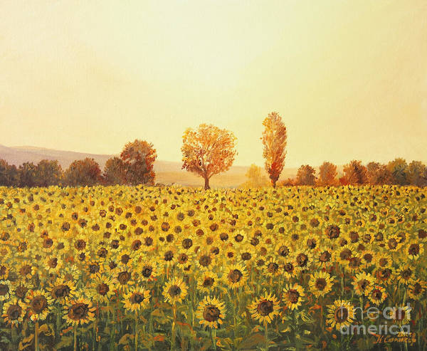 Wall Art - Painting - Memories Of The Summer by Kiril Stanchev