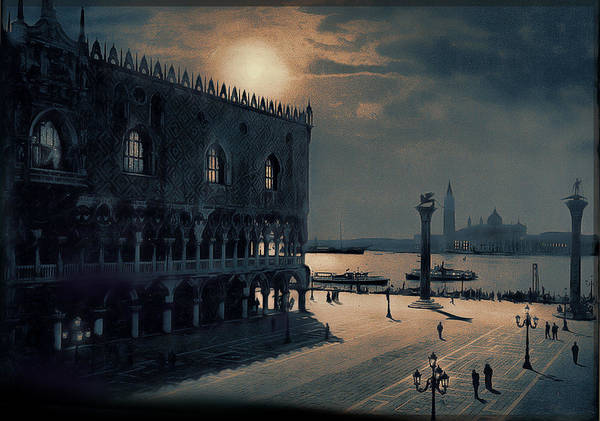 Painting - Memories Of Venice No 2 by Douglas MooreZart