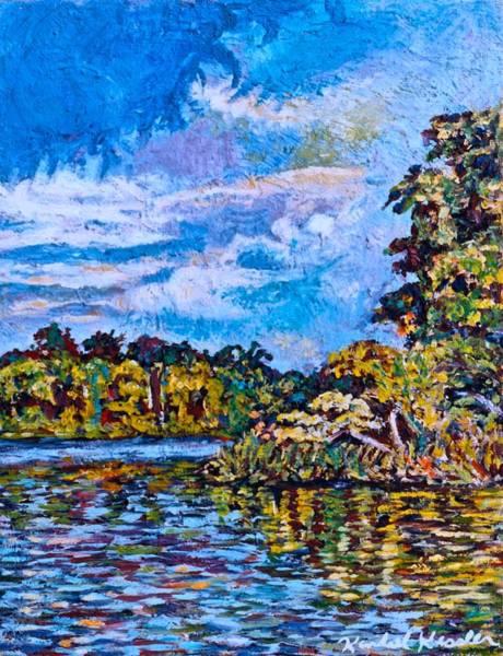 Painting - Memory Of Sallies Cove by Kendall Kessler