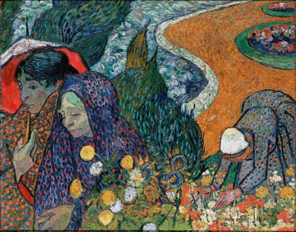 Digital Art - Memory Of The Garden At Etten by Vincent Van Gogh