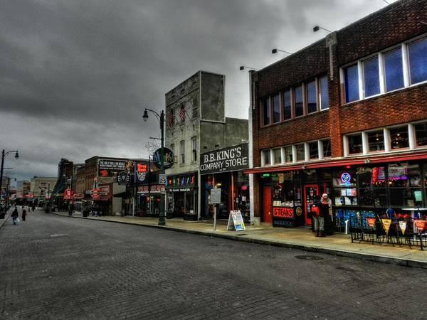 Wall Art - Photograph - Memphis - Beale Street 003 by Lance Vaughn