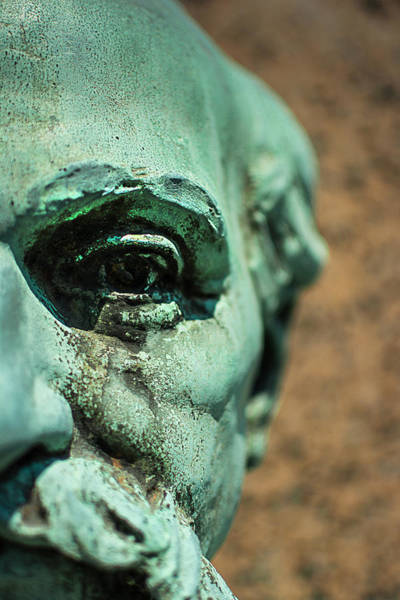 Between Photograph - Memphis Elmwood Cemetery Monument - The Governor by Jon Woodhams